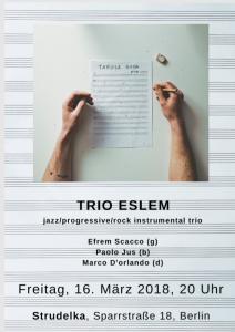 Konzert trio eslem